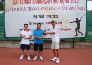 Thông tin về giải Tennis SAIGONLAW